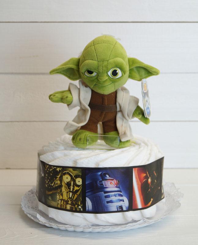 tarta pañales star wars regalos bebes 1 piso