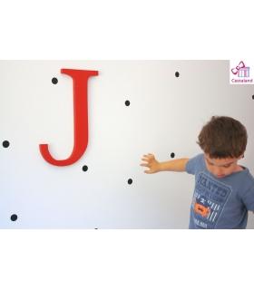 Letras sueltas personalizadas a medida. Iniciales de madera