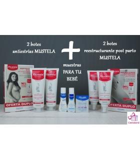 Promoción Mustela Antiestrías y Reestructurante con regalo