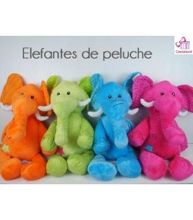 Elefantes de peluche 40cm