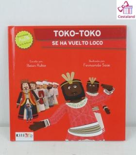 "Libro ""Toko-toko se ha vuelto loco"" - Kilikids libros gigantes Pamplona"