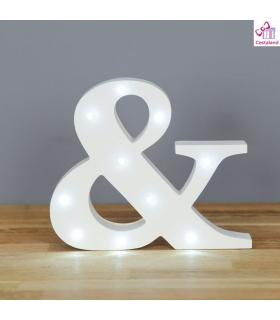 Letra & luminoso 16cm. Comprar letras con luces