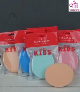 Esponja de fibra para bebés.