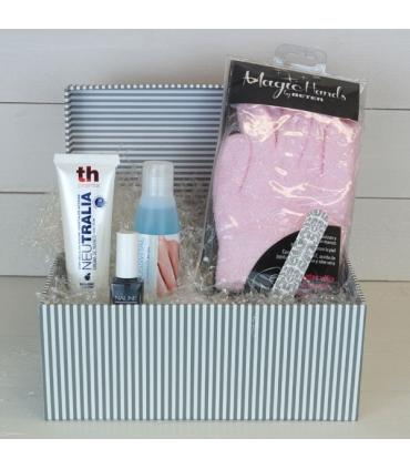 cesta magic hands. Regalos para mujeres y madres