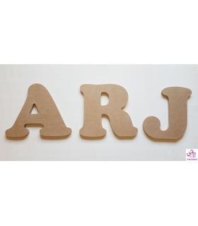 Letras para decorar con fotos. Letras de madera para decorar