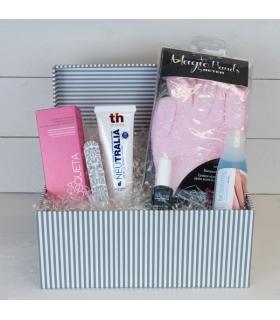 Cesta manos de seda. Comprar regalos para mujeres y madres