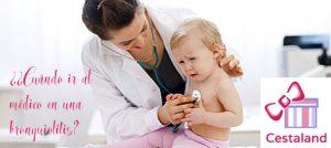 bronquiolitis en bebés y bronquitis en niños