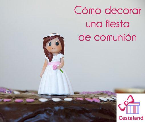 Decoraci n de comuni n centro de mesa para comuni n - Decoracion comunion en casa ...
