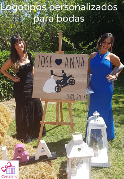 Logotipos personalizados para bodas