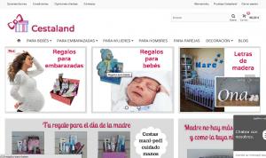 cestaland tienda canastillas para bebés, tartas de pañales, regalos para embarazadas y letras de madera