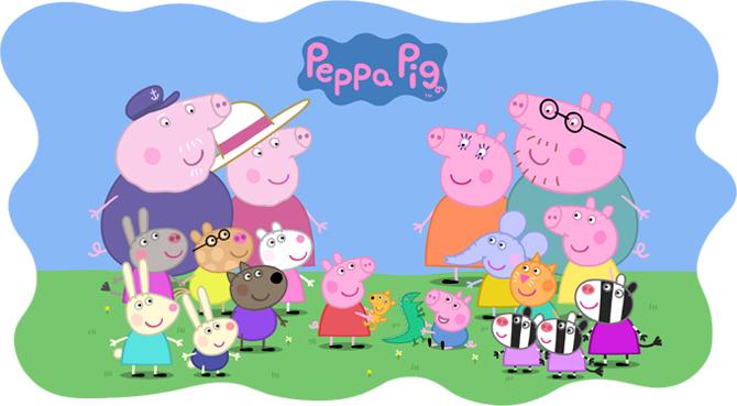 Dibujos animados adecuados para niños: Peppa Pig - Blog de Cestaland
