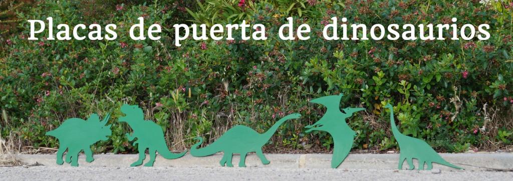 placas dinosaurios