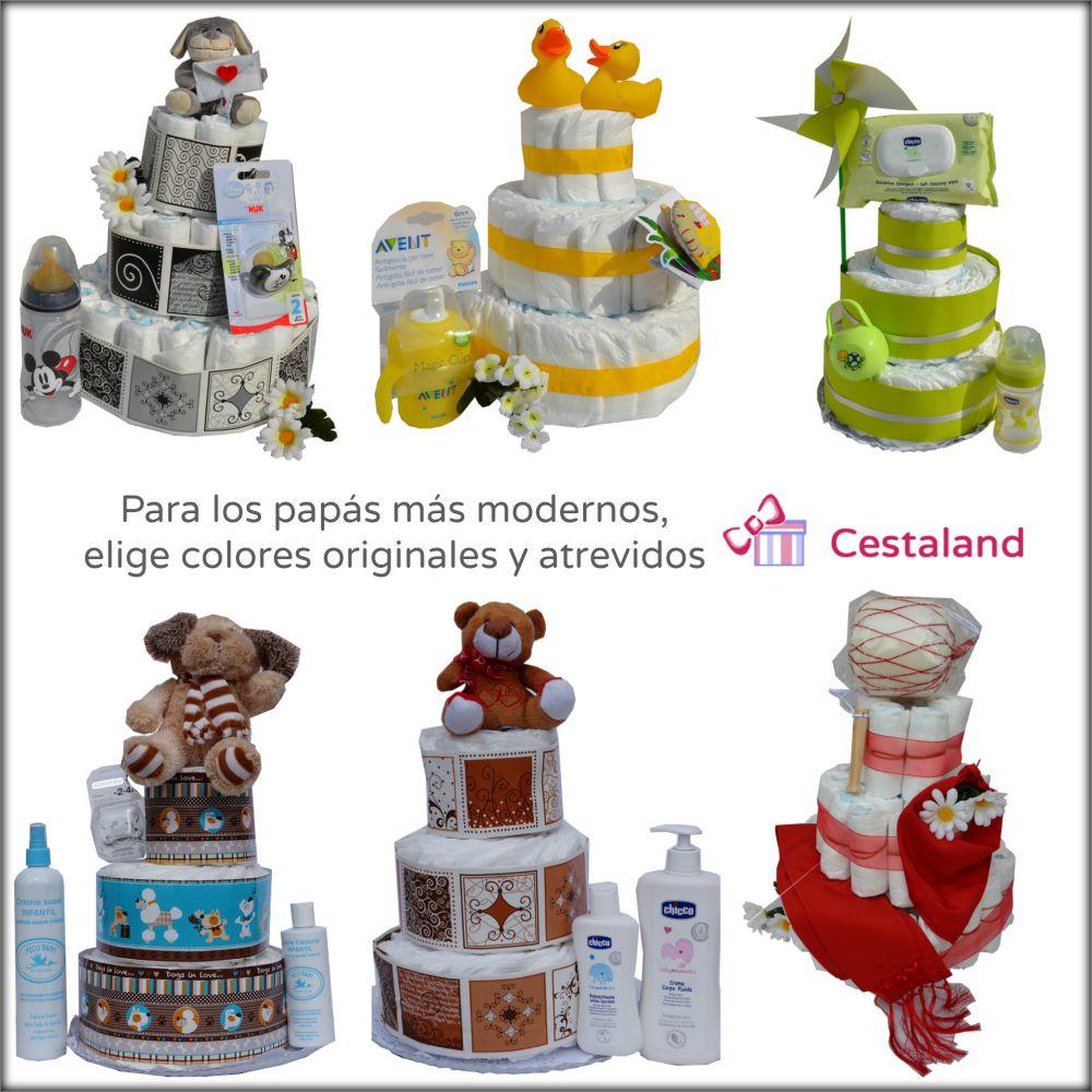 2722485b7 Dónde comprar tartas de pañales originales online  - Blog de Cestaland