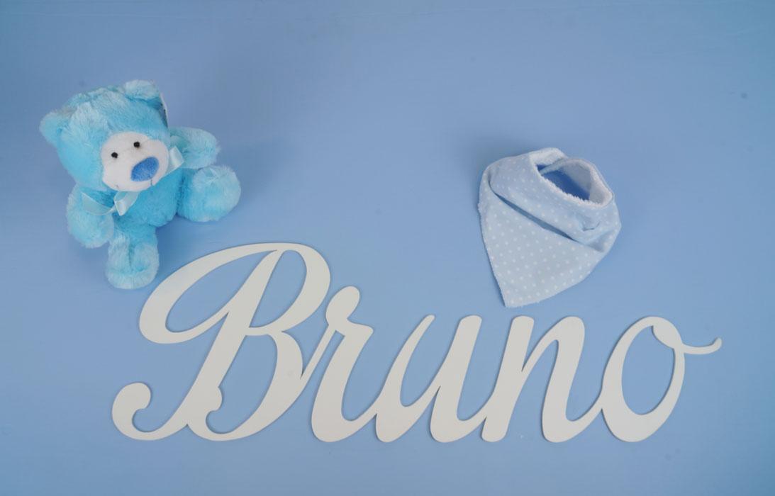letras en madera nombres de bebés decoración infantil