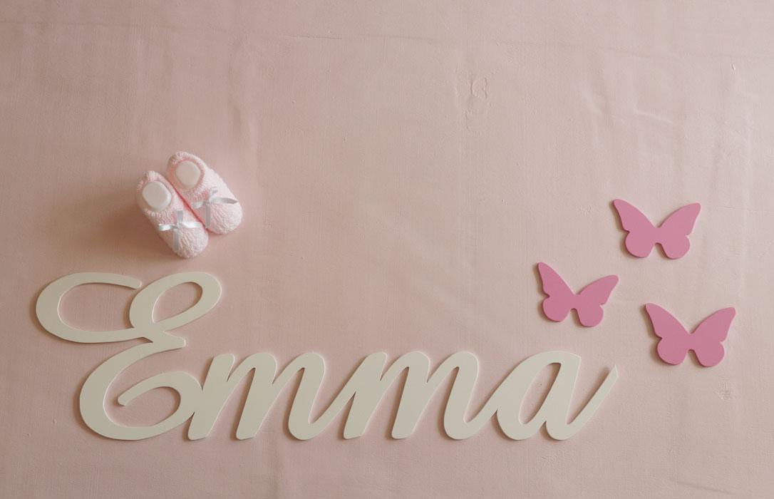 letras para pared clásicas