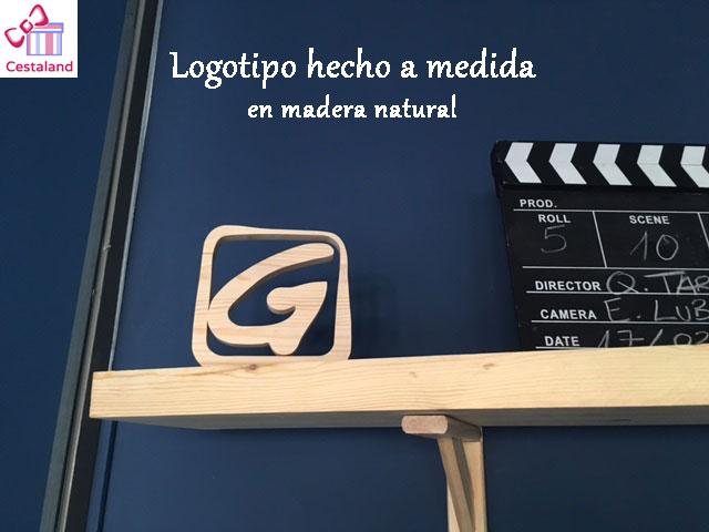 logotipo en madera para empresas