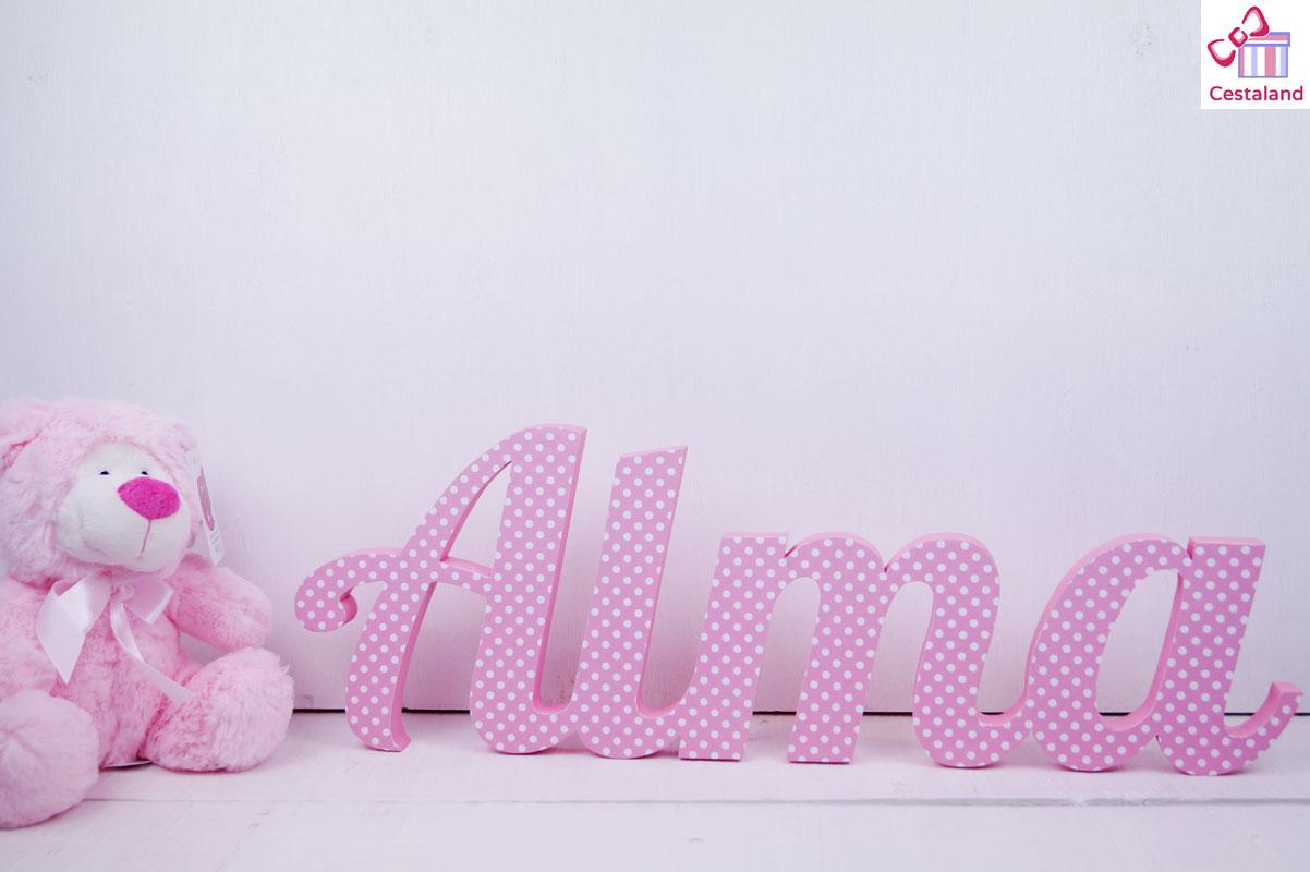 letras decoradas personalizadas