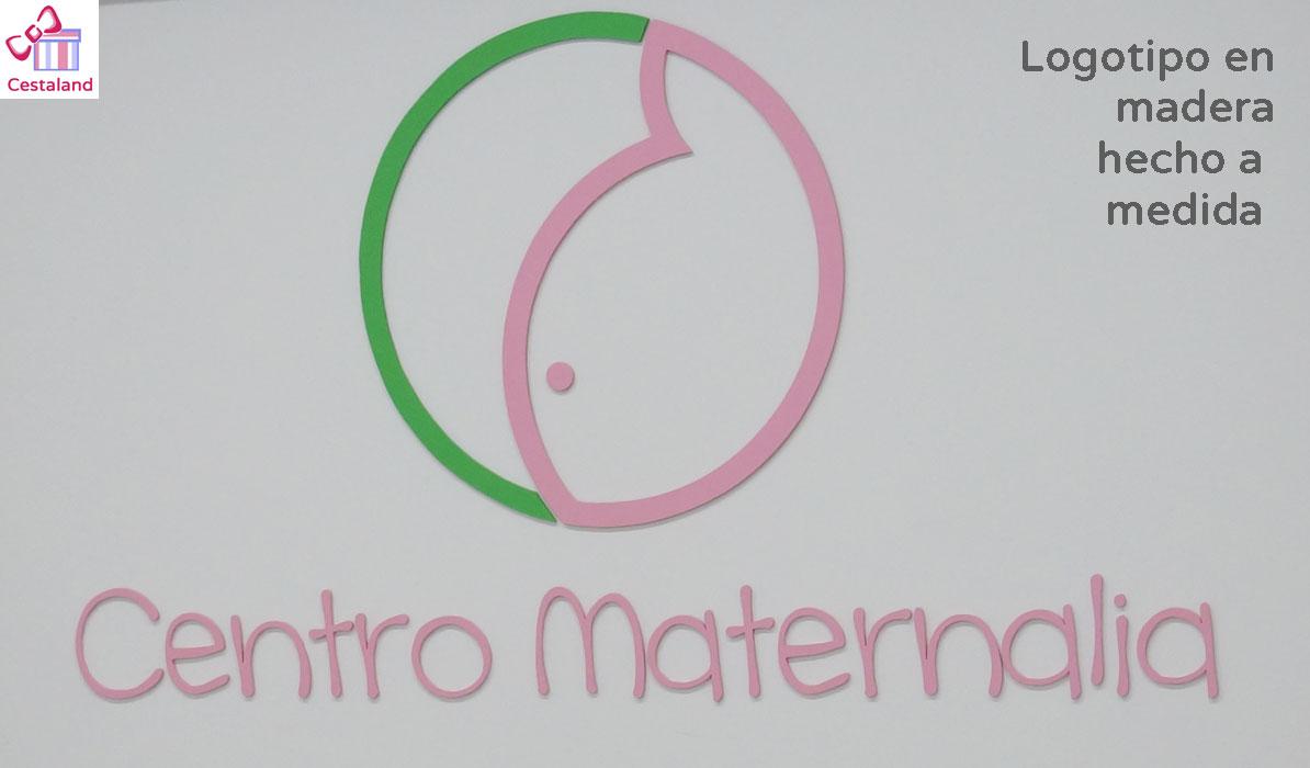 logotipo madera personalizado