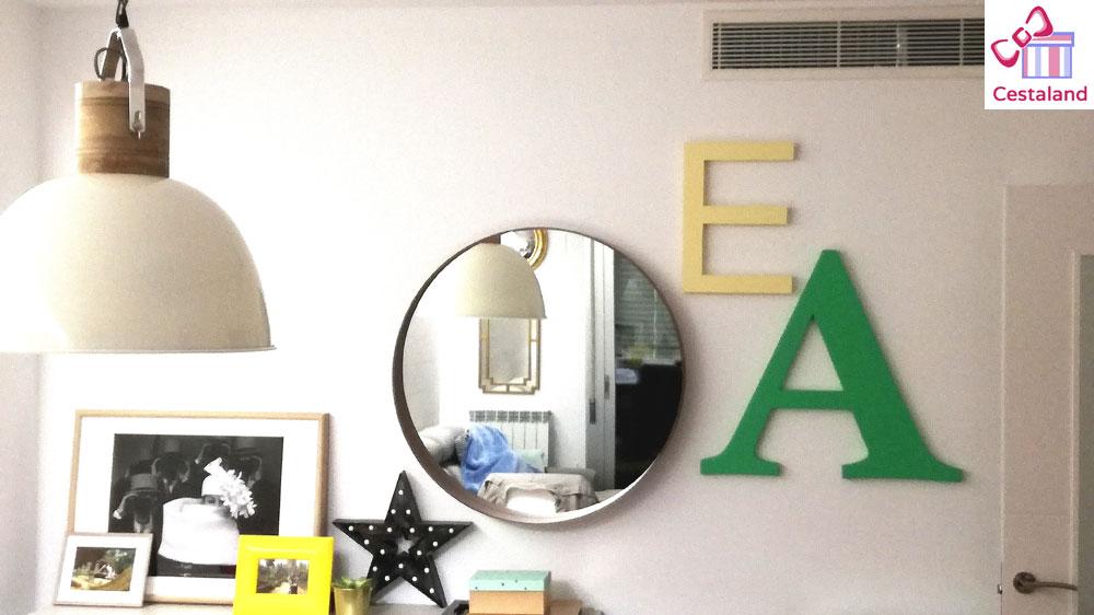 decorar con letras iniciales