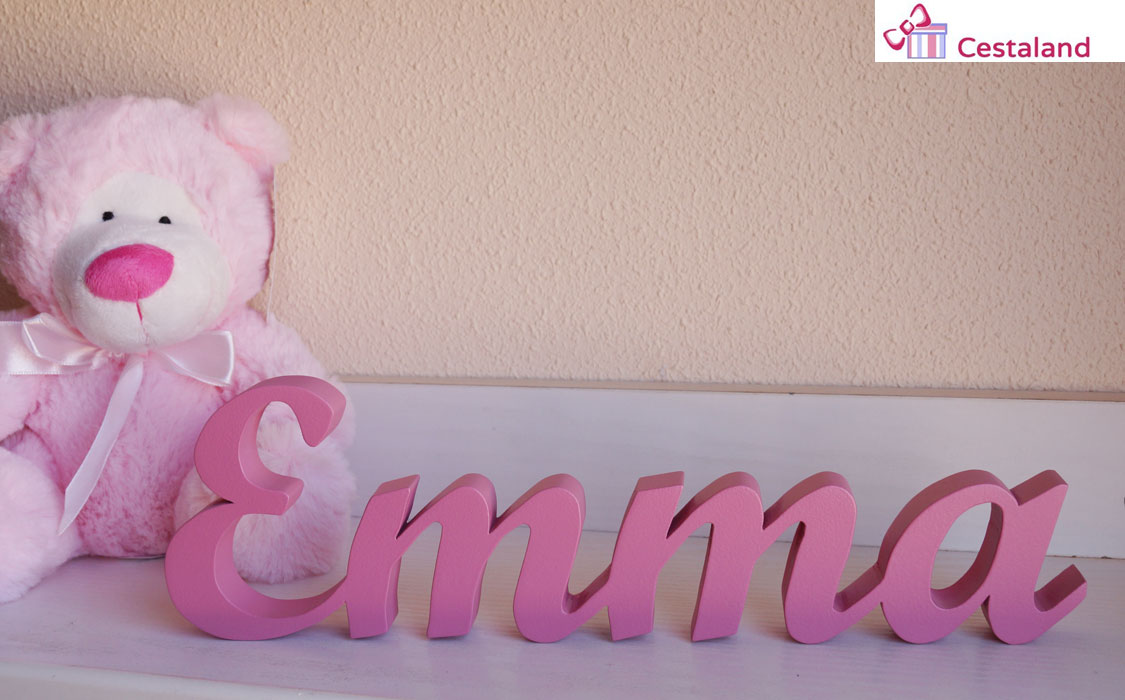 letras de madera a medida Emma