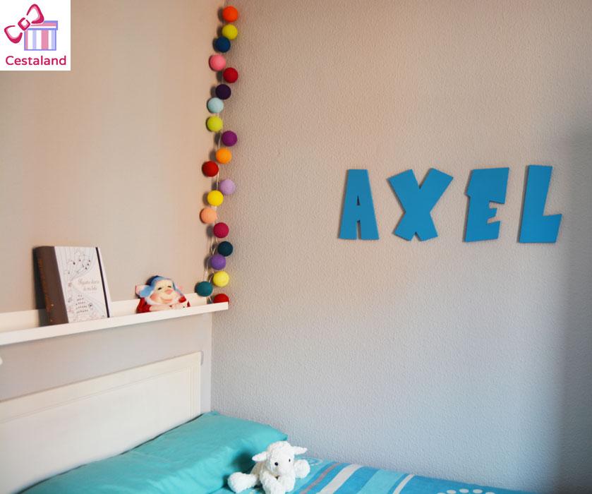 decorar con nombres las habitaciones infantiles