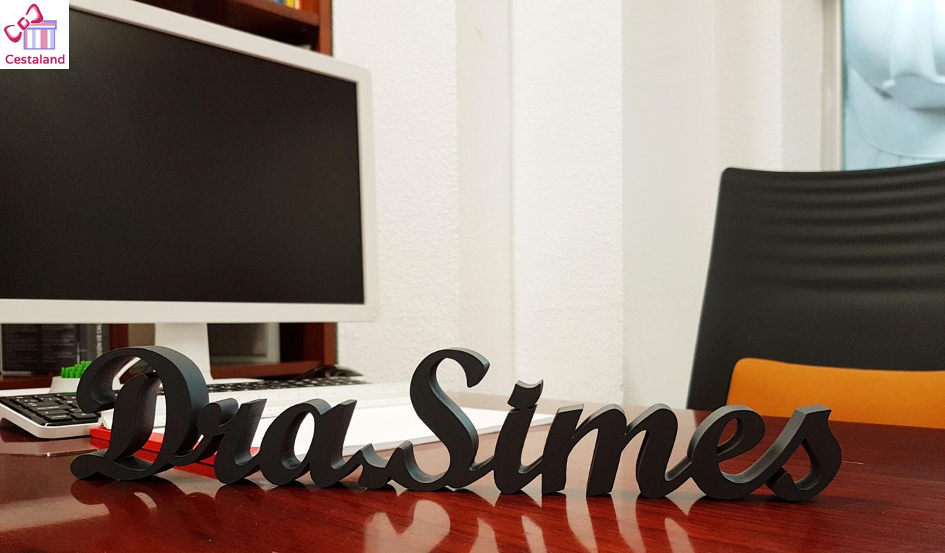 logotipos corpóreos para oficinas. Decorar despachos profesionales. Decorar oficinas