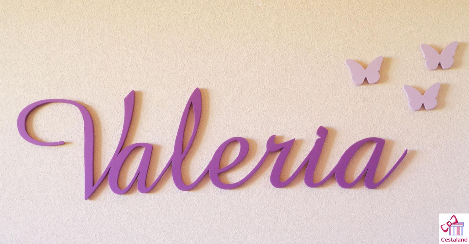 Letras para pared de madera personalizadas