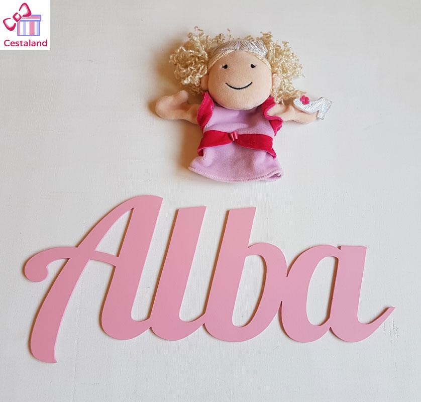 letras madera personalizadas decoración infantil