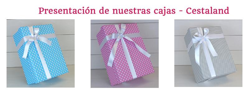 cajas regalo para bebés