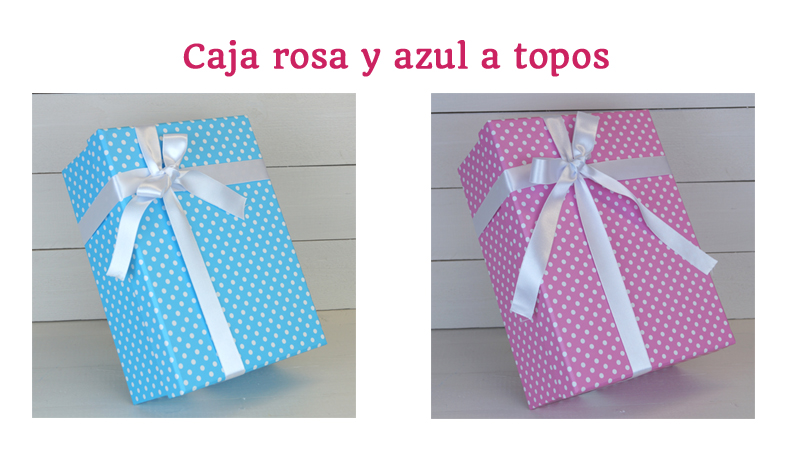cajas regalos para bebés