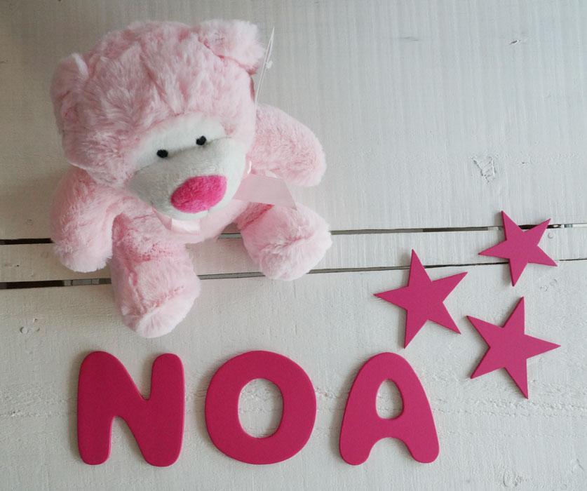 letras decorativas infantiles de madera