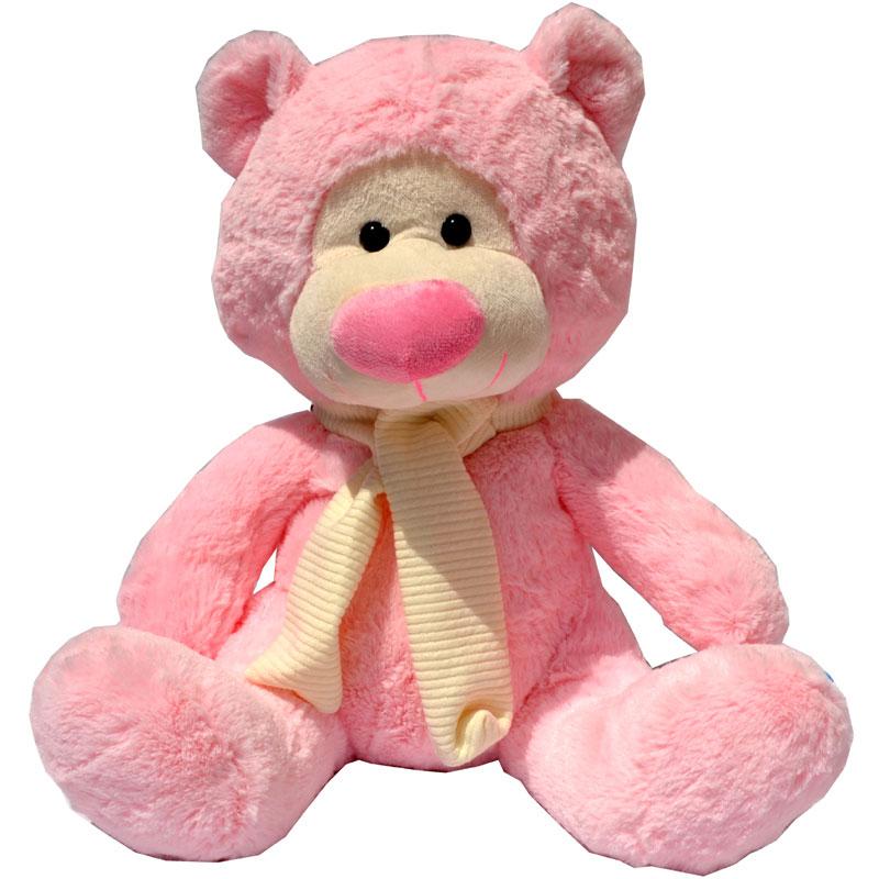 oso peluche rosa
