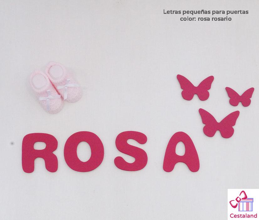 letras para bebés