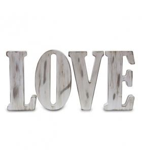 LOVE desgastado Letras de madera