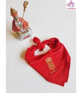 Pañuelico adultos bordado san Fermín y fiestas