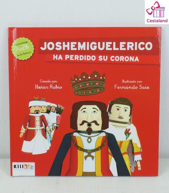 "Libro ""Joshemiguelerico ha perdido su corona"" - Kilikids libros gigantes Pamplona"