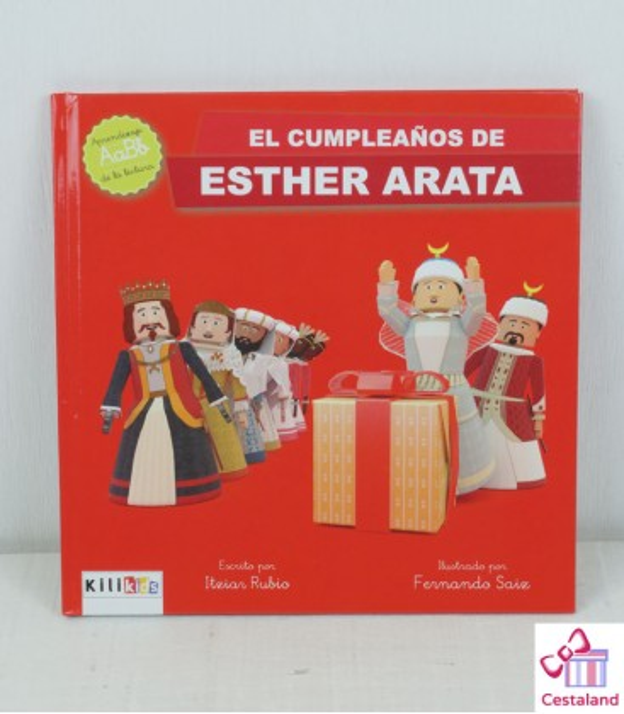 """Libro """"El cumpleaños de Esther Arata"""" - Kilikids libros gigantes Pamplona"""