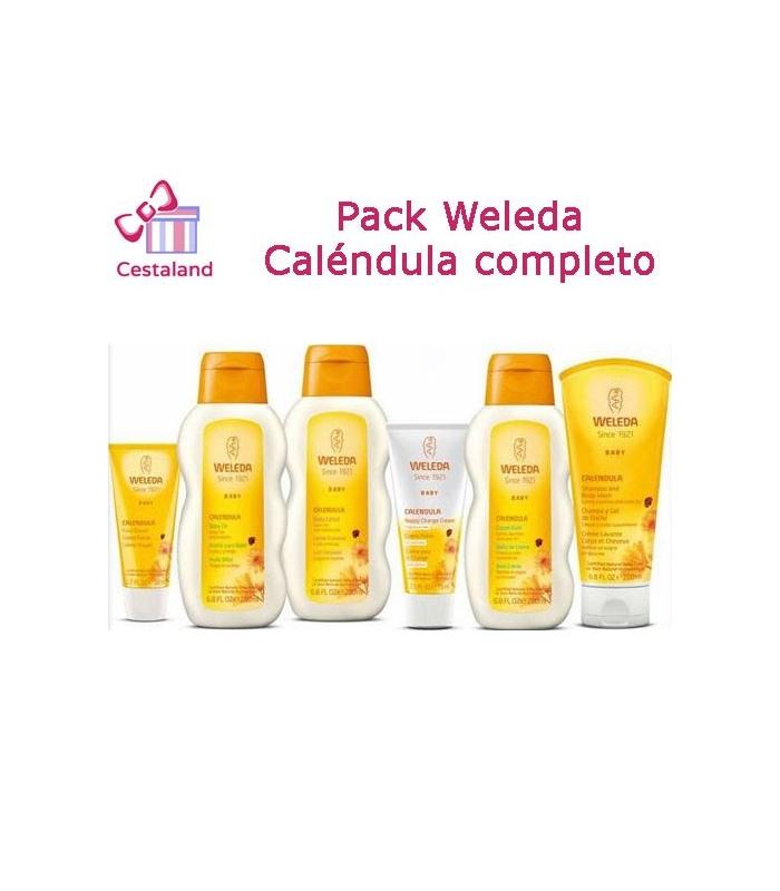 Pack Weleda Bebes Calendula completo
