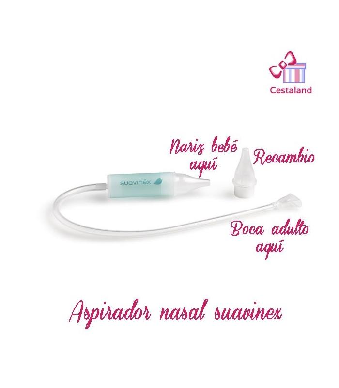 Aspirador Nasal para Bebe SUAVINEX. Comprar aspirador nasal