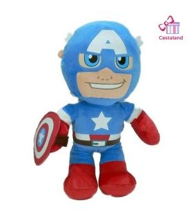 Peluche Capitán America para Bebés y Niños