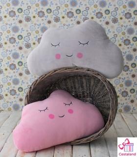 Cojines Nube Bebe Mofletes. Comprar cojines con forma de nube