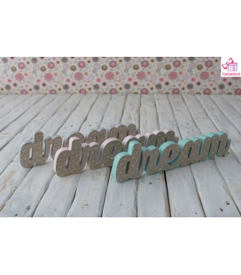 Letras Dream de Madera. Comprar letras madera Dream