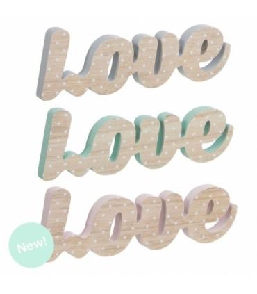 Letras Love de Madera. Comprar letras madera Love