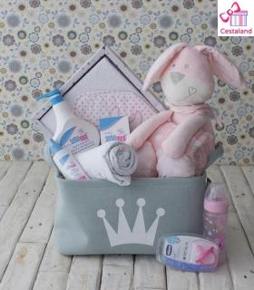 Cestas para bebés Bunny. Regalos originales para bebés