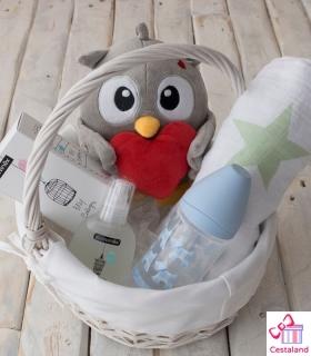 Cesta para Bebés Suavinex Nido. Comprar regalos Suavinex para bebés
