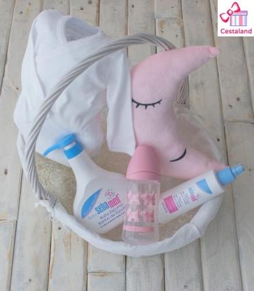 Canastilla Bebé Ternura. Cestas para bebés con cojines