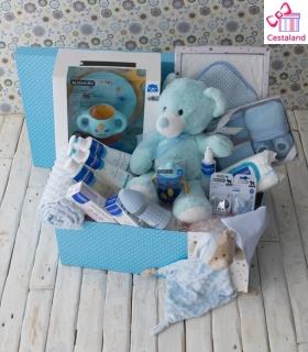 Cesta mustela MI MAMÁ ME MIMA. Comprar cestas para bebes.