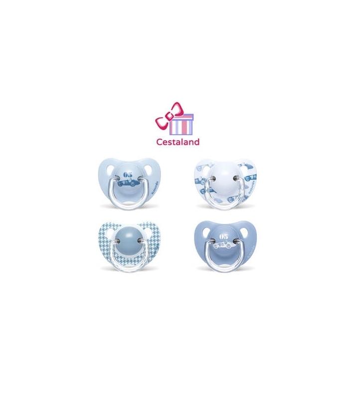 Chupete azul suavinex. Regalos para niños y recién nacidos