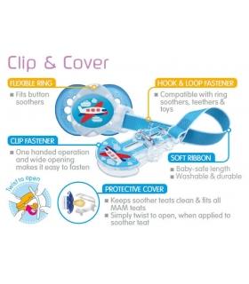 MAM Cadenita chupete Clip & Cover. Comprar MAM