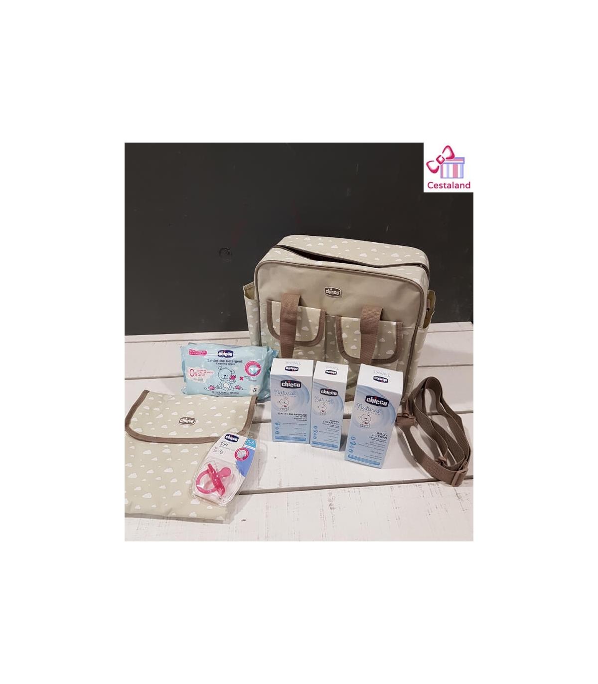 92baef245 Bolsa maternal CHICCO estrellas. Completa bolsa para la maternidad.